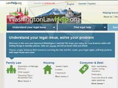 A good site for Washington state residents to get basic legal info. Northwest Justice Project: Welcome to WashingtonLawHelp