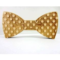 Wooden Bow Tie http://www.notonthehighstreet.com/charlieboots/product/wooden-bow-tie