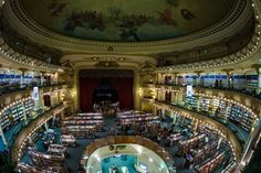 The Beautiful Buenos Aires Bookstore Inside a 100 Year Old Theatre