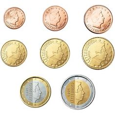 monedas euro serie Luxemburgo 2015