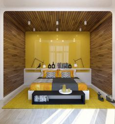 Home Designing — (via Two Lovely Apartments Featuring Wood...