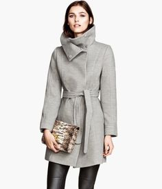Item of the Week: H&M Wrap Coat - PERFECT for layering this fall & winter.