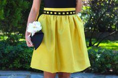 Fashion and Style Blog / Blog de Moda . Post: Skirt and Top Oh My Looks Collection / Falda y Top de la colección de Oh My Looks .More pictures on/ Más fotos en : http://www.ohmylooks.com .Llevo/I wear: Skirt / Falda ; Top ; Bag / Bolso : Oh My Looks