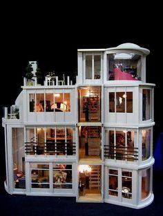 One twelve scale modern home