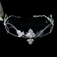 Enchanted Forest Circlet...unique touch to a wedding headpiece....LOVE circlets...very Renaissance