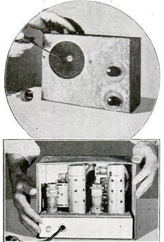 1935 Two Tube Portable. #RadioHistory