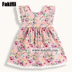 2019 New Style Girl/Baby/Infant Floral Fashion Kid Dress Floral Fashion, Fashion Design, Frock Design, Chinese Style, News Design, Frocks, Kids Fashion, Infant, Rompers