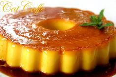 Pudim de laranja - Sobremesas de Portugal