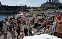 market waterfront