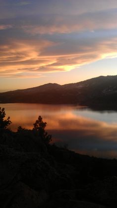 Sunset, Horsetooth resevoir, Fort Collins, CO.