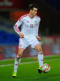Gareth Bale in action during the International Friendly between Wales and Iceland at Cardiff City Stadium on March 5, 2014 in Cardiff, Wales.