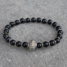 patience and soothing, genuine Onyx gemstone bracelet