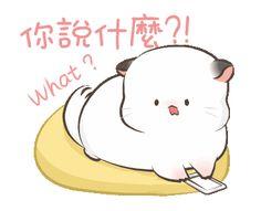 Black And White Chickens, Cute Kawaii Animals, Gifs, Cute Love Gif, Dibujos Cute, Cat Stickers, Line Sticker, Kawaii Art, Cute Drawings