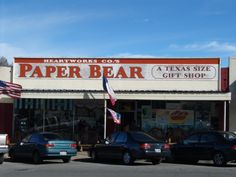 My favorite store in the world! Paper Bear, San Marcos,TX.