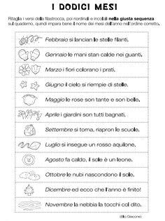 Mesi Italian Grammar, Italian Language, How To Speak Italian, Everyday Italian, Italian Lessons, Learning Italian, Travel Planner, Primary School, School Days