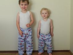 Free PJ Pants Sewing Pattern