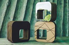 Kartoons cardboard furniture www. Cardboard Furniture, Beautiful Buildings, Golf, Mirror, Table, Design, Home Decor, Card Stock, Decoration Home
