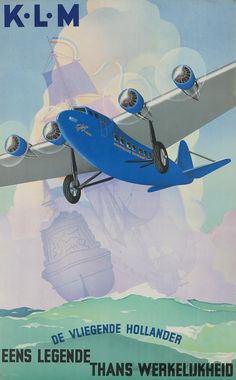 KLM Airline Posters