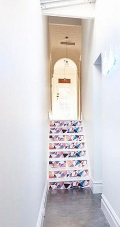 Cool staircase!