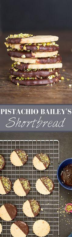 Pistachio Baileys Shortbread | Recipes From A Pantry                                                                                                                                                                                 More