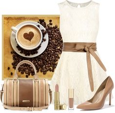 """""""Coffee & Creme"""" by casuality on Polyvore"""