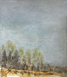 Seija sainio: Maaseudun tulevaisuus, mixed media, 140 x 120cm, 2015