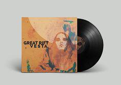 Great Rift Vesta Cover /Vinyl Storyboard, Illustrator, Vinyl Cover, Music Instruments, Vinyl Records, Graphics, Poster, Musical Instruments, Illustrators