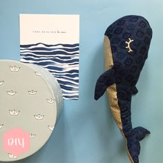 """Whale comforter- For the last tutorial of the month of August on the theme """"Vitamin Sea"""" I propose to make a whale blanket Source by neonpeony - Diy Accessoires, Baby Couture, Baby Comforter, Baby Sewing, Whale, Comforters, Sewing Projects, Embroidery, Nouveau Look"""
