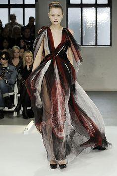 Rodarte Fall 2008 Ready-to-Wear Fashion Show - Abbey Lee Kershaw