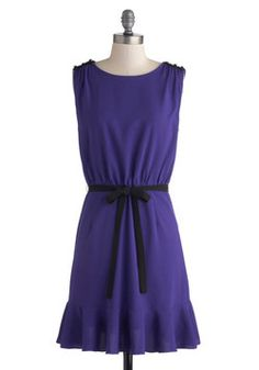Plum Lovely Dress, #modcloth