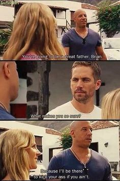♥ vin diesel and paul walker ♥ fast & furious 6 Vin Diesel, Furious Movie, The Furious, Michelle Rodriguez, Gal Gadot, Cars Movie Quotes, Movie Cars, Dad Movie, Fast And Furious Memes