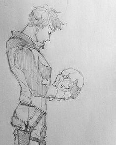 I did not draw this, my friend sent it to me who also did not draw this idk who drew this but its sooooooo good!!