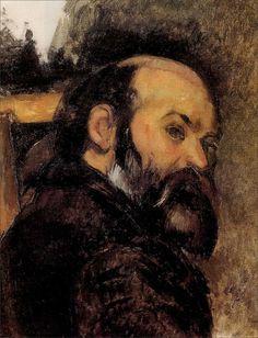 Self-Portrait  Paul Cezanne   1885   Post-Impressionism