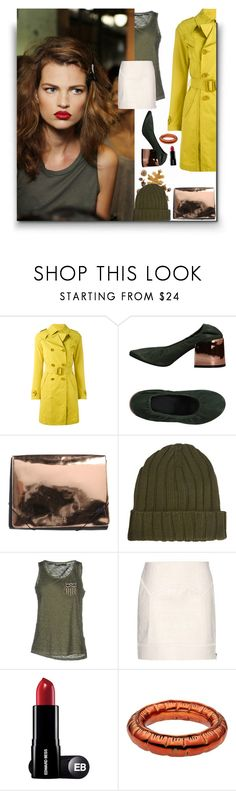 """""""Mystery"""" by sue-mes ❤ liked on Polyvore featuring Herno, MM6 Maison Margiela, ONLY and Tom Ford"""