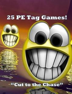 These are all extremely fun and fast-moving tagging games. Students will get their heart rates up and not even know they are getting a great workout because they will be having so much fun. Pe Activities, Physical Activities, Movement Activities, Ed Game, Flag Game, Health And Physical Education, Science Education, Elementary Pe, Pe Lessons