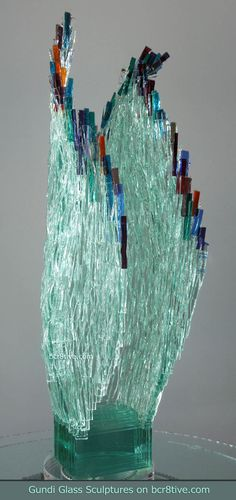 Gundi Glass Sculptures Legong
