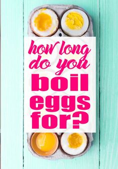 Learn how to cook the perfect boiled egg with this minute by minute guide. This article will finally answer the question of how long do you boil eggs for! Best Gluten Free Desserts, Gluten Free Snacks, Gluten Free Cooking, Holiday Recipes, Great Recipes, Simple Recipes, Recipe Ideas, Learn To Cook, Food To Make