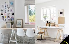 DIY INSPIRATION | Sawhorse Desk