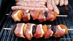 Brochettes de magret de canard, abricots et pruneaux - Recette - Marciatack.fr : recettes faciles   Tout pour cuisiner !