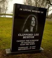 Cliff Burton~Metallica  R.I.P. respect