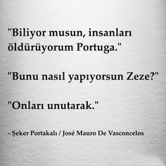 """""""You know, I& killing people, Portuga. - I wonder . a lot . Poetry Quotes, Book Quotes, Words Quotes, Sayings, Neon Words, Funny Texts Crush, Meaningful Words, Sentences, Quotations"""