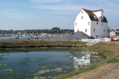 Woodbridge Tide Mill by s tandy, via Geograph Woodbridge Suffolk, Wood Bridge, Heritage Site, Norfolk, Childhood Memories, Britain, Ireland, Coastal, Europe