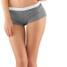 Women's UA Essential Boy Shorts Underwear Bottoms by Under Armour Large True Gray Heather by Under Armour. $19.99. polyester. 4-way stretch fabrication improves mobility and accelerates dry time, while maintaining shape. Superior Moisture Transport System keeps you cool, dry, and comfortable. Anti-odor technology prevents the growth of odor-causing microbes, keeping your underwear fresher, longer. Faux fly adds a little hit of style. Short inseam. Polyester/Elastane. Imported.