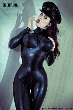 Dark Sinful Fashion that Summons the Deviant Within. Beautiful women wearing Leather, Latex, Vinyl, and PVC lingerie and Fetish wear. Sexy Latex, Latex Babe, Spy Girl, Military Looks, Cybergoth, Latex Girls, Biker Chick, Jaba, Skin Tight