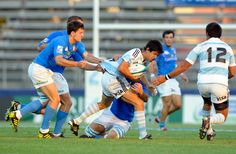 Matias Moroni Photos: Argentina v Italy - IRB Junior World Championship