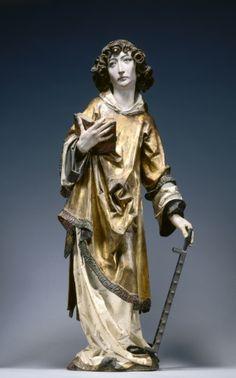 Tilman Riemenschneider, Saint Stephen (ca. 1502-08, Cleveland Museum of Art)