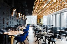 Tom Dixon Design Research Studio has designed the interiors of Alto Restaurant, which is a new grill restaurant in Hong Kong. This restaurant is the Modern Restaurant, Restaurant Design, Grill Restaurant, Luxury Restaurant, Restaurant Lighting, Bar Grill, Restaurant Concept, Tom Dixon, Design Café