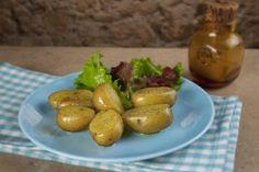Recetas – Patatas al microondas Recetas Light, Bon Appetit, Baked Potato, Pickles, Cucumber, Baking, Fruit, Vegetables, Ethnic Recipes