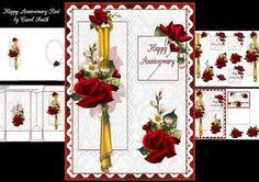 Happy Anniversary Red Velvet Roses 1