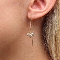 Ear Jewelry, Cute Jewelry, Bridal Jewelry, Jewelery, Jewelry Accessories, Vintage Jewelry, Jewelry Trends, Danty Jewelry, Gucci Jewelry